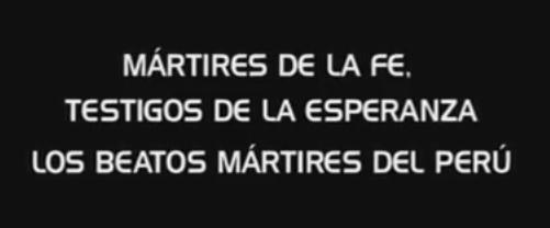 Martiri del Perù